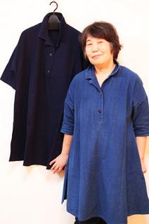 吉田さん藍染めブログ用.JPG