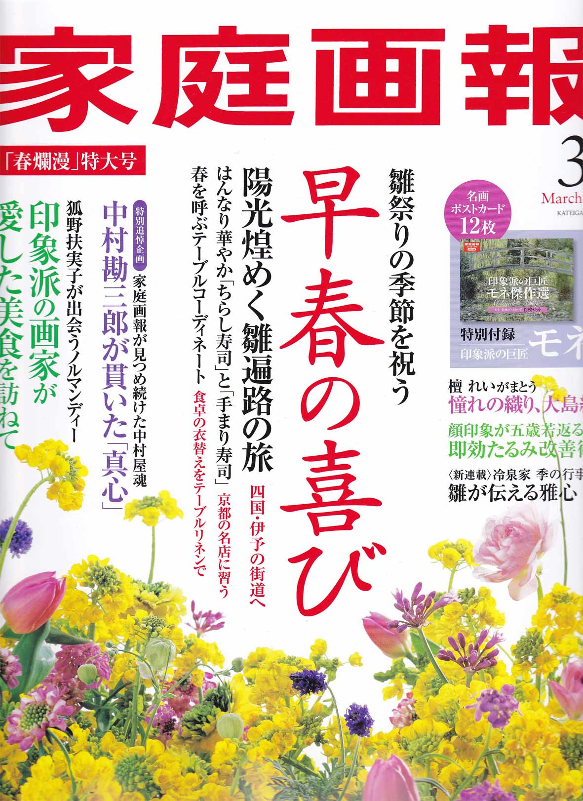 発売 家庭 画 日 報